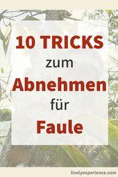 Meine 10 Tipps zum Abnehmen