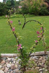 70 coole und einzigartige DIY-Gartenkunst-Ideen für einen attraktiven Garten