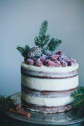 15 pasteles de boda de invierno de moda   – Audra
