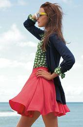 La corolle de jupe pour une silhouette avec un halo – Fasion – #with #corolle #Fa …   – Jupes