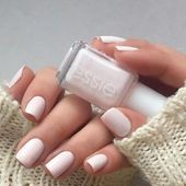With this breathtaking light pink nail polish you …