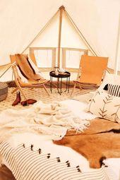 8 idées créatives qui font du Camping Glamping – camping – #de #CAMPING #d …   – Reise Ideen