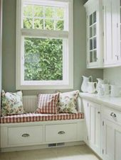 21 suggestions for cozy and comfortable sitting area at the window