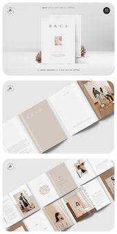 BRUS Fashion Magazine & Lookbook  – Design