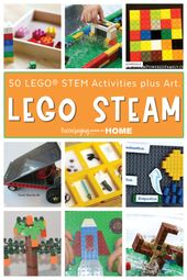 50 LEGO STEM Activities Plus Art for LEGO STEAM. 2