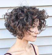60 penteados ondulados curtos mais bonitos   – Kurz