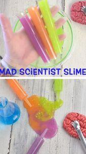 DIY Slime MAD SCIENTIST SLIME