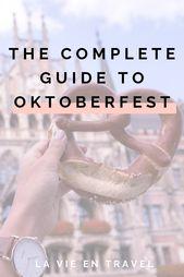 Oktoberfest in Munich Germany – (COMPLETE GUIDE)