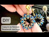# Bead Earrings / #Beadwork #earrings / #DIY / (2020)