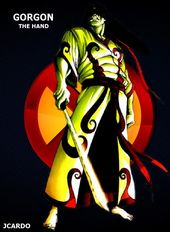 Gorgon Mutant Marvel Villains Mundo Marvel Marvel Cards