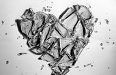 Image result for realistic broken heart drawing