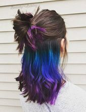 """Underlights are THE solution for everyone who wants colorful hair but has a """"serious"""" job – Très Click"""