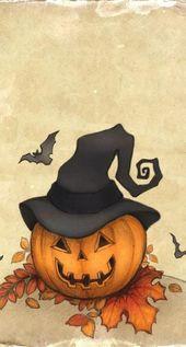 Neue Feiertags-Tapete Halloween-Kunst 44 Ideen – #FeiertagsTapete #HalloweenKuns…