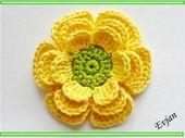♥ 3D Blüte ♥