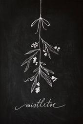 Christmas Chalkboard Inspiration