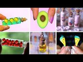 (2331) 20 mini Charm Bottles – Cutest Jewelry DIY! MINI CHARMS IN A BOTTLE! – Yo…  – crafts