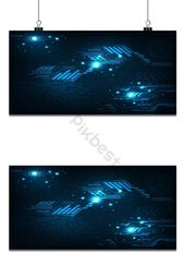Interface background in the concept of technology background   Backgrounds EPS Free Download – Pikbest