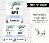 Baby Shower Songs EDITABLE Pacifier Hunt Game, Printable Baby Shower Games, Adventure Awaits Baby Shower, Baby Pacifie