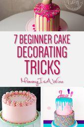 7 Easy Cake Decorating Trends For Beginners   – Backen