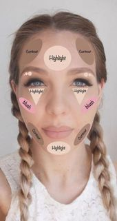 Trendy makeup tutorial for beginners Contouring products 26 Ideas – # beginners #co …