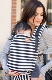 Baby Carrier Black and white stripes baby carrier. Keep your little one close with an ergonom...