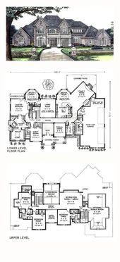 House Goals Mansions Bedrooms Floor Plans 58+ Idea…