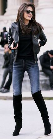 40 Latest Knee High Boots Outfit Ideas – Hairstyles Hair