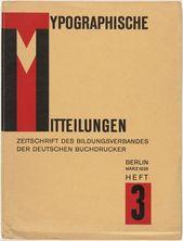 Unknown Artist. Typographische Mitteilungen: Zeitschrift des Bildungsverbandes d…