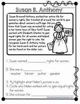 Susan Anthony And Reading On Pinterest Reading Passages Susan B