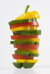 Paprika und Zwiebeln in der Mikrowelle kochen   – Cheat tips