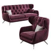 3c Candy Sixty Modern Sofa Furniture Design Sixties Sofa