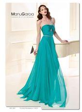 Vestido de fiestaMANU GARCIA 85319 Como un soplo de aire fresco, este vestido …