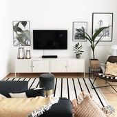Living Room with Plants #sophiagaleria #interior #urbanjungle
