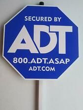 New Adt Security Yard Sign No Double Sided Stickers Waterproof