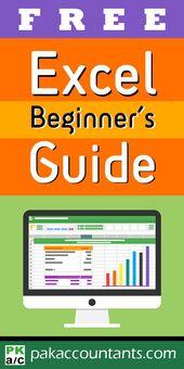 FREE – Excel Beginner's Guide