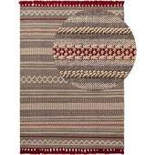 Photo of Benuta trends plat geweven tapijt ian multicolor / blauw 240 × 390 cm – vintage tapijt in gebruikte lookbenuta – io.net/design