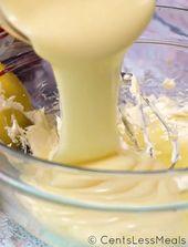 Ein süßes, säuerliches und einfaches Dessert. Diese cremige Zitronentorte ist die perfekte …