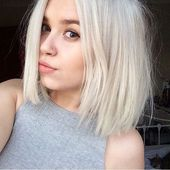 Cheveux courts brun blond   – Hair