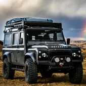 """Daily Overland. on Instagram: """"The Defender of New Mexico @heritagedriven  Follow us —> @dailyoverland  @landrover  #DefenderSeries #DefenderLife #DefenderV8…"""""""