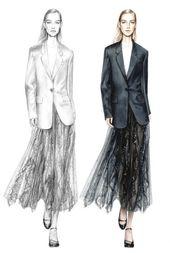 New Fashion Drawing Illustration Style Inspiration 25+ Ideas