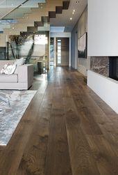 8″ Greycastle colour – Estate Plank Collection White Oak Hardwood Flooring Greyc…
