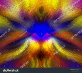 Extruded Abstract Fractal Background Futuristic Wavy Stock Illustration 1593666139