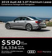 2019 Audi A6 3 0t Premium Lease Convenience Package With Navigation Audi Dealership Audi Audi A6