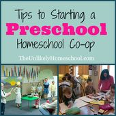 Tipps zum Starten einer Vorschule Homeschool Co-op: Intro   – Kid Blogger Network Activities & Crafts