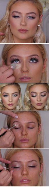30 Hochzeit Make-up-Ideen für Bräute – Die Göttin – Makup – #Brides #Goddess #ide …   – Make-up Guide