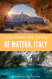 Exploring the Caves of Matera, Italy