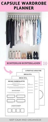 Minimalistische Garderobe, Capsue Wardrobe, Minima…