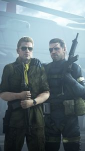 Pin On Metal Gear Solid V The Phantom Pain After beating mission 46 i came back to mother base, and was treated to short scene with code talker. pin on metal gear solid v the phantom pain