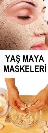 Yaş Maya Maskeleri