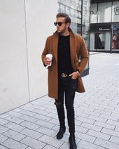 Full look of me in my  coat  its such a simple look but so efficient – dont you … – Outfit